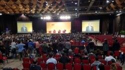 香港特首选举三候选人最后辩论交锋