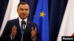 안드레이 두다 폴란드 대통령 (자료사진)