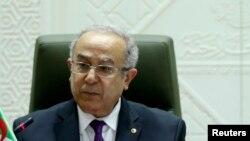 Ramtane Lamamra, le ministre des Affaires étrangères algérien