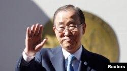 Ban Ki-moon, secrétaire général des Nations Unies