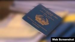 افغان پاسپورٹ (فائل فوٹو)