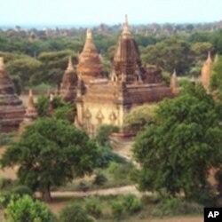 佛塔和寺庙林立的古都蒲甘