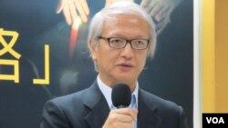 香港中国维权律师关注组副主任张耀良律师(美国之音张永泰拍摄)