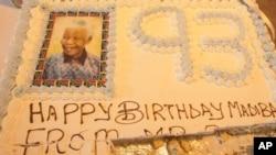 نیلسن منڈیلا کی 93 ویں سالگرہ