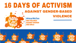 Ezabesifazana: Sixoxa Ngomkhankaso we16 Days of Activism Against Gender Based Violence