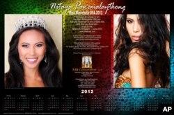 ປະຕິທິນ ນາງງາມລັດມິນນີໂຊຕາ 2012 ນິດຕະຍາ ປານມາໄລທອງ (Miss Minnesota USA 2012)