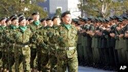 日本陆上自卫队(资料照片)