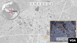 Al-Shaghour neighborhood of Damascus, Syria