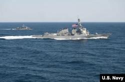 Hải quân Hoa Kỳ sẽ tiếp tục những cuộc tuần tra ở Biển Đông.
