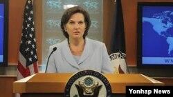 미 국무부의 빅토리아 눌런드 대변인 (자료사진)