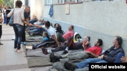 Štrajk glađu radnika Metalca (rtcg.me)