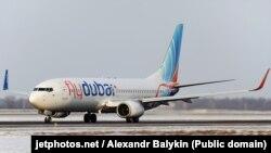 Boeing 737-800, flight FZ981, aircraftreg #A6-FDN