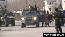 مهاجمان از سوی نیروهای امنیتی افغان محاصره شده اند