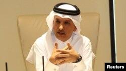Bộ trưởng Tài chính Qatar Ali Sherif al-Emadi.