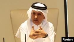 Qatar Moliya vaziri Ali Sharif al-Imadiy