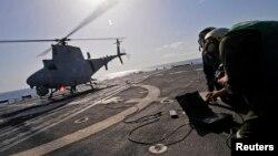 Aviones no tripulados e inteligencia estadounidense coopera con el gobierno de Nigeria.