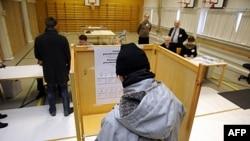 Голосование в Эспоо 22 января 2012г.