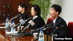 북한의 관영매체 조선중앙통신은 탈북자 부부(김광호 부부)와 그들의 딸, 또 다른 탈북 여성(고경희) 등 4명이 북한으로 귀환해 인문문화궁전에서 기자회견을 했다고 24일 보도했다.