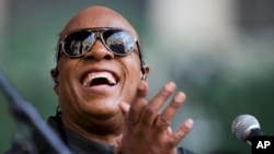 Stevie Wonder dalam sebuah konser di Philadelphia. (Foto: Dok)