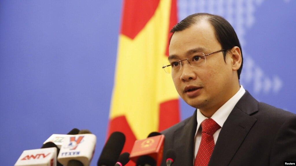 Phát ngôn viên Bộ Ngoại giao Lê Hải Bình.