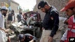 انفجار تانکر نفت ناتو در پاکستان