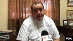 Monseñor Carlos Avilés Cantón, Pro Vicario General de la Arquidiócesis de Managua aseguró que la iglesia siempre defenderá los derechos elementales de las personas, incluyendo la libertad.