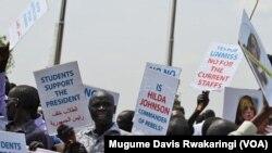 South Sudan Demonstrators Rail Against UN