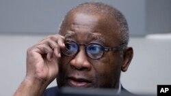 Laurent Gbagbo attend le début de son procès devant la CPI à La Haye, le 28 janvier 2016.