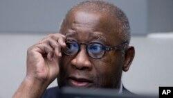Laurent Gbagbo attend le début de son procès devant la CPI à La Haye, le 28 janvier 2016. (AP Photo/Peter Dejong, Pool)