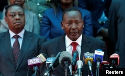 FILE PHOTO -- Kenya's Interior Minister Joseph Nkaissery has vowed to capture the terrorists behind the attacks.