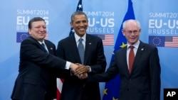 Presidente Obama na Europa
