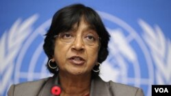 Komisaris Hak Azasi PBB, Navi Pillay (foto: dok).