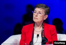 Delia Ferreira Rubio, presidenta de Transparencia Internacional.