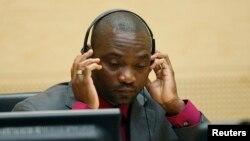 L'ancien chef de milice congolais Germain Katanga lors d'une audience à la CPI (Archives Reuters - 15 mai 2012)