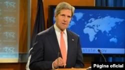Secretário de estado John Kerry. [State Department photo/ Public Domain]