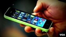 애플사의 아이폰. (자료사진)