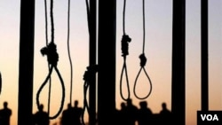 이란의 교수형장 (자료사진)