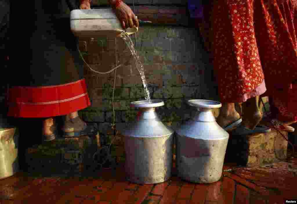دنیا میں کل پانی کا صرف ایک فیصد تازہ پانی پر مشتمل ہے۔