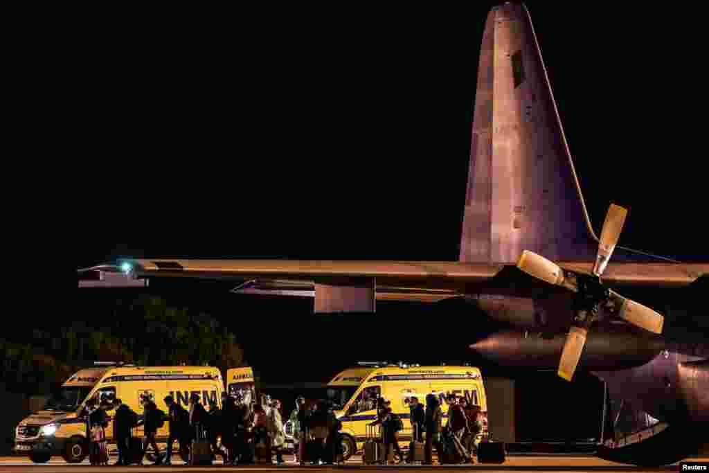 چین کے شہر ووہان سے واپس آنے والے پرتگالی شہریوں کو لسبن ملٹری ایئرپورٹ پر اتارا گیا اور ان کا میڈیکل چیک اپ کیا گیا۔ اس دوران انہیں الگ تھلگ رکھا گیا۔