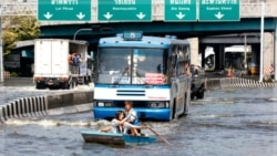 خطر همچنان بانکوک را تهدید می کند