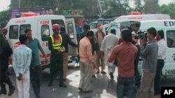 اس حملے میں سری لنکن ٹیم کے چند کھلاڑی بھی زخمی ہوئے تھے