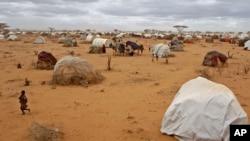Trại tị nạn ở Dadaab, Kenya.