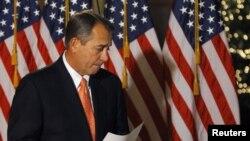 Boehner prevé realizar el jueves una votación sobre su propuesta en la Cámara de Representantes.