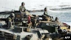 სამხრეთ კორეა და აშშ სამხედრო წვრთნებს ატარებენ