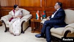 بھارت و بنگلہ دیش کے وزرائے خارجہ