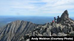 阿帕拉契山區登頂健行客。 (資料圖片)