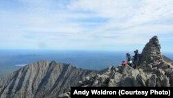 阿帕拉契山区登顶健行客。(资料照)