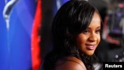 Bobbi Kristina Brown, putri mendiang Whitney Houston, telah meninggal dunia hari Minggu 26/7 (foto: dok).