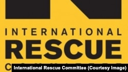 Le logo de l'ONG International Rescue Committee