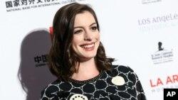 Aktris pemenang Oscar – Anne Hathaway – ditunjuk sebagai utusan khusus PBB untuk urusan perempuan (foto: dok).